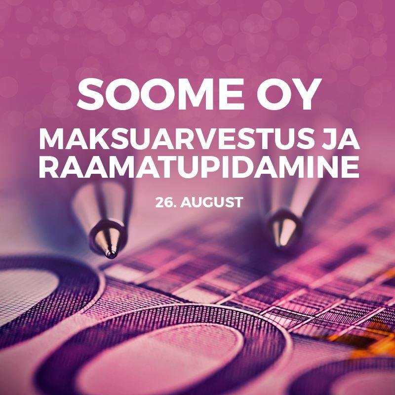 Picture of Soome Oy maksuarvestus ja raamatupidamine