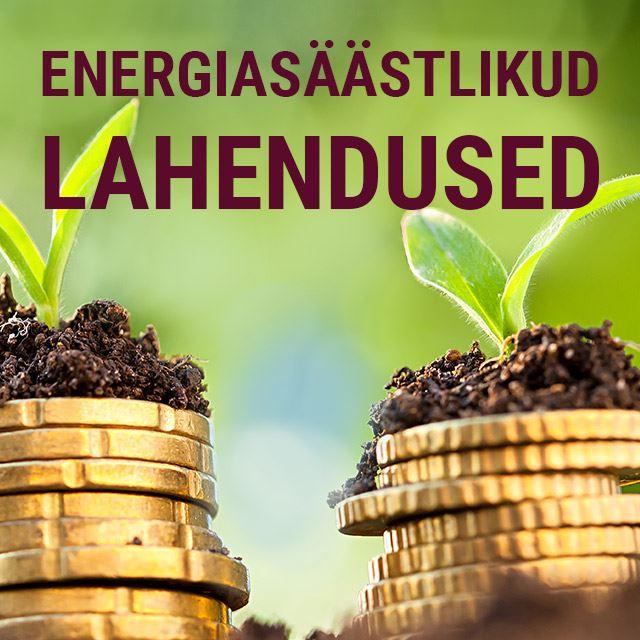 Picture of Energiasäästlikud lahendused