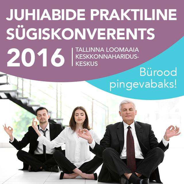 Juhiabide praktiline sügiskonverents 2016 pilt