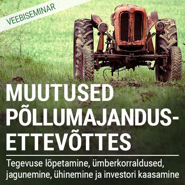 Picture of Muutused põllumajandusettevõttes