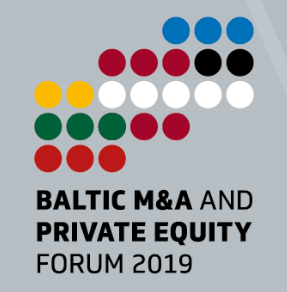 Baltic M&A and Private Equity Forum 2019 pilt